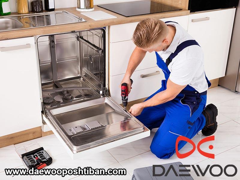 ایرادات رایج در تعمیرات ماشین ظرفشویی دوو