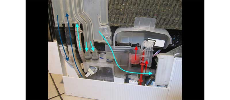تعمیر مشکل وارد نشدن آب به داخل ماشین لباسشویی دوو
