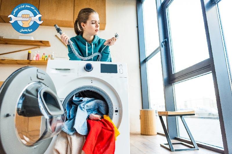 صدای ماشین لباسشویی میتواند نشان دهنده چه چیزی باشد؟