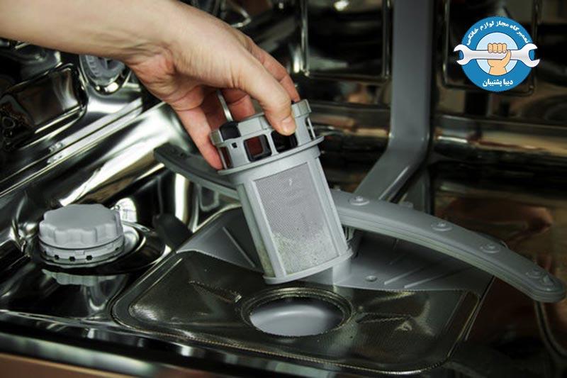 دلایل تخلیهنشدن آب در ماشین ظرفشویی دوو