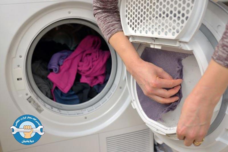 نحوه ی رفع ارور IE در ماشین لباسشویی دوو