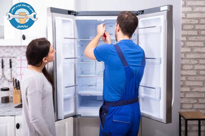 نحوه ی رفع ارور r1 در یخچال دوو